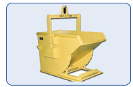 Self Dumping Hopper with Crane Bail