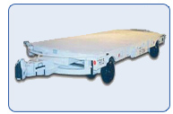 Flat Bed Supply Trailer 15 Ton Capacity